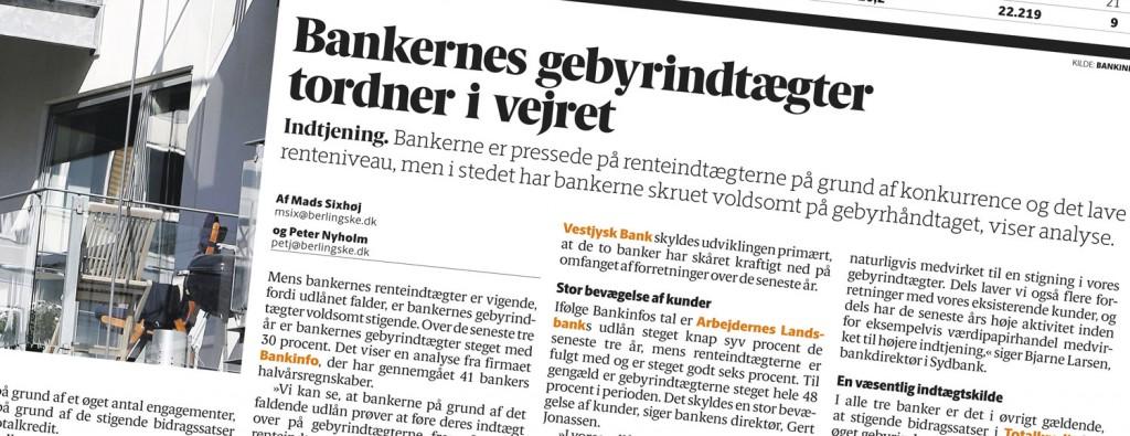 Omtale i Berlingske Tidende
